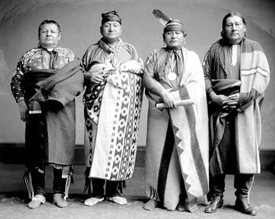 Osage Indians Clothing